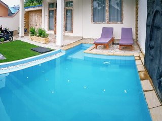Private pool in the garden