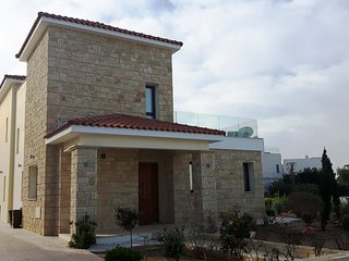 Golden villa 10. Paphos seaside 3 bedroom villa with private pool.