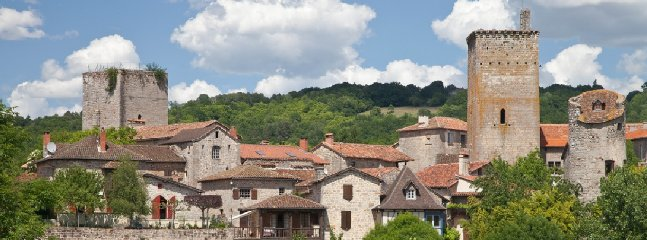 The village of Cardaillac 20 minutes