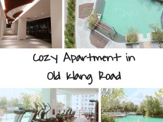 Cozy Apartment with 2BR near to MidValley!