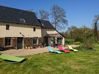 Merveilleux cottage proche de Dinan, Rennes, Saint-malo et Mont Saint-Michel