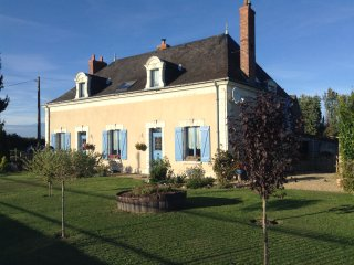 Delightful Upstairs Apartment in the Beautiful Rural Countryside of the Loire