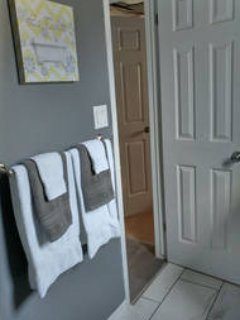 Private bathroom - steps from your room