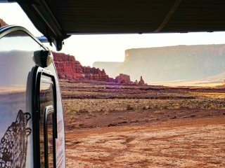 Red Rock Base Camp Nightly Teardrop Trailer Rentals