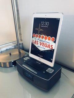 Bluetooth Clock-Radio with Dual iOS Lightning Dock