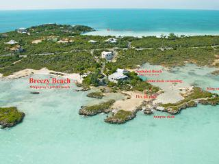 Private Villa with Private Beach, 'WhipSpray Villa' 413 Chalk Sound Drive