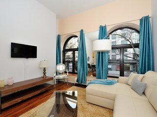 Incredible 1 br Classic New York City Apt 2 bay window 9219