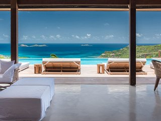 Villa Ixfalia  (Overlooking Saint Jean Bay - One Of The Most Beautiful Villas In