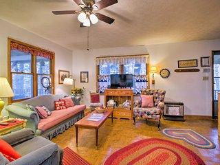 The warm, earthy decor creates a peaceful ambiance.