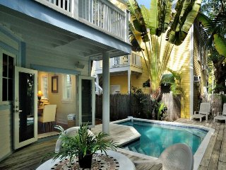 Dog-friendly home w/ private pool - walk to the beach and restaurants!