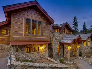 This Elegant Chateau Brings Old World Europe to Breckenridge; walk to slopes!