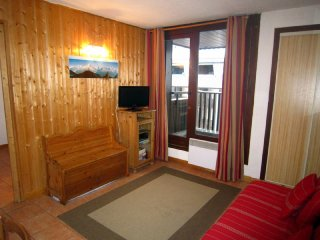 BelgiqueC -  apartment in the heart of Chamonix with huge balcony and log fire