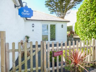 BLUE OYSTER ground floor, spacious accomodation, woodburner in Mullion, Ref 9573