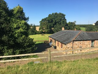 The Shippen - a converted dog friendly barn, all on one level, Dartmoor views.