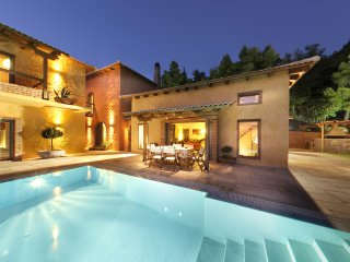 Sea view Estate Villa with rural surroundings, private pool & superb interiors!!