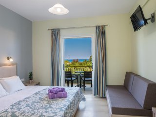 Self-Catering Sea View Studio in Psarou, Zakynthos