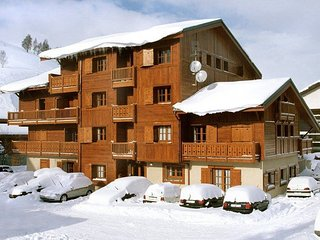 Comfortable apartment with balcony at 100m from the ski lift