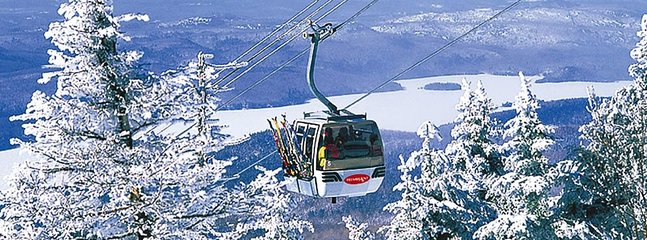 Mont-Tremblant resort is 20 min. away