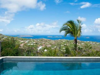 Villa Anais  * Ocean View - Located in  Tropical Vitet with Private Pool