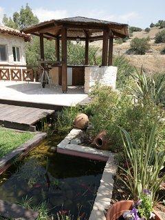 Villa Retreat 6 bedroom Courtyard Villa with Pool in Countryside near Limassol.