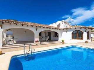 Villa Erita en Benissa,Alicante para 6 huespedes