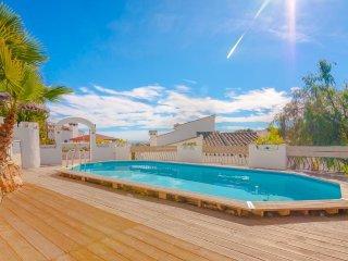 Villa Tortuga en Benissa,Alicante,para 6 personas