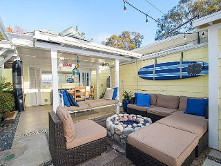 2BR Near Beach – Private Courtyard w/ Fireplace and Outdoor Shower
