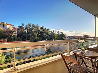 Cannes Centre - 2 Pieces avec terrasse vue degagee