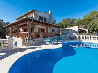 5 bedroom Villa in Son Serralta, Balearic Islands, Spain : ref 5558390