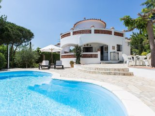4 bedroom Villa in Sant Antoni de Calonge, Catalonia, Spain : ref 5557176