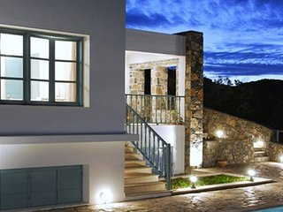 4 bedroom Villa in Mochlos, Crete, Greece : ref 5557041