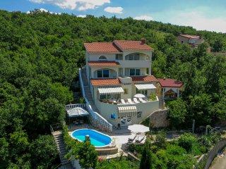 6 bedroom Villa in Jadranovo, Primorsko-Goranska Zupanija, Croatia : ref 5554871
