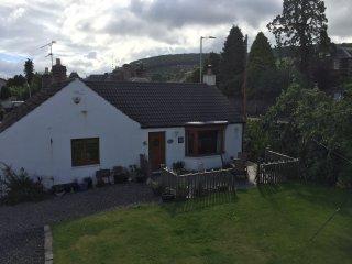 Detached cottage in Perthshire village