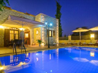 4 bedroom Villa in Atsipopoulo, Crete, Greece : ref 5519705