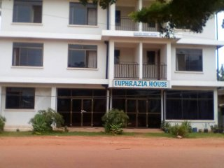 Bukoba Orient Hotel / Euphrazia House - Ground Floor w/ the King size bed