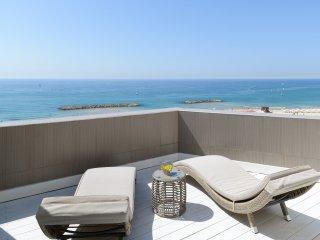 Herzliya Pituah. 3BR. Duplex, Sea Panorama, Pool,