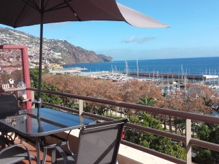 Superb View Over the Marina Funchal 270* View