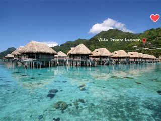 ★★★ Villa Dream Lagoon | bungalow prive | piscine  | petit-dejeuner