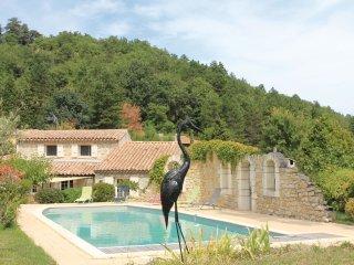 4 bedroom Villa in La Begude-de-Mazenc, Auvergne-Rhone-Alpes, France : ref 55657