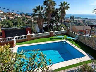 5 bedroom Villa in Santa Susanna, Catalonia, Spain : ref 5561065