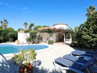 4 bedroom Villa in Las Tres Cales, Catalonia, Spain : ref 5560737