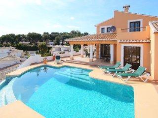 3 bedroom Villa in Rada de Moraira, Valencia, Spain : ref 5557971