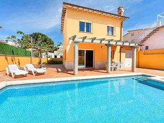 4 bedroom Villa in els Riells, Catalonia, Spain : ref 5557451