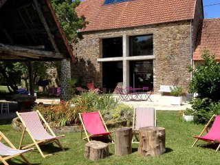 4 bedroom Villa in Saint-Pair-sur-Mer, Normandy, France : ref 5556561