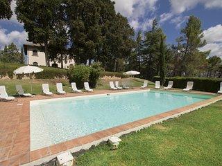 9 bedroom Villa in Luiano, Tuscany, Italy : ref 5556491