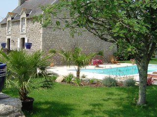 4 bedroom Villa in Trébérouant, Brittany, France : ref 5554374