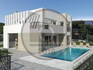 4 bedroom Villa in Klimno, Primorsko-Goranska Zupanija, Croatia : ref 5550193