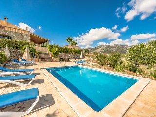 4 bedroom Villa in Binibona, Balearic Islands, Spain : ref 5549313