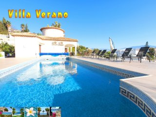 Luxury Villa Verano *** Heated Pool 30ºC = 86ºF *** Splendid Sea View