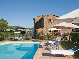 4 bedroom Villa in Col di Morro, Tuscany, Italy : ref 5548371